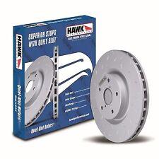 Disc Brake Rotor-Quiet Slot Rotor(TM) Front Hawk Perf HUS8181  05-10 Mustang V6