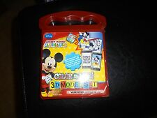 DISNEY MICKEY MOUSE CLUB HOUSE COLOR TO LIFE 3D MODEL SET NEW AND SEALED