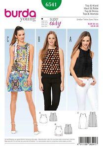 Burda Style Schnittmuster - Kleid & Top & Layering-Top - Nr. 6541