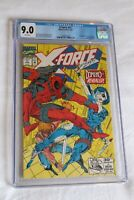 CGC Graded 9.0 Comic Marvel X-Force 11 Rare Hot 1992 First Real Domino Liefeld