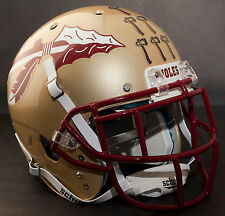 FLORIDA STATE SEMINOLES *MINI* Football Helmet TOMAHAWK AWARD Decal/Sticker (5)