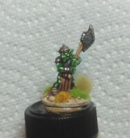 25mm 28mm well painted Reaper Miniatures Goblin warrior hero great axe fantasy