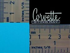 Corvette Stingray Script Quality Lapel Pin Badge