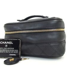 Authentic CHANEL 3932189 Bicolole Vanity bag leather[Used]