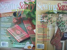 Sewing Savvy Magazines - 2002
