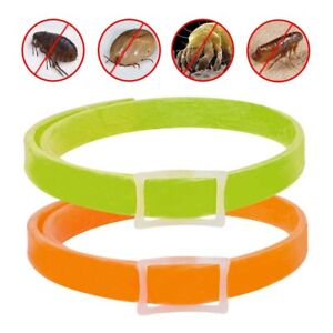 Pet Flea and Tick Collars for Dog Cat Kills Fleas Prevents Waterproof Adjustable