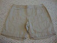 Women's NWT ANN TAYLOR LOFT khaki shorts, 10