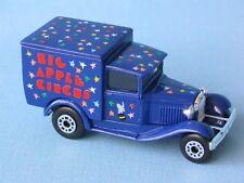Matchbox MB-38 Ford Model A Van New York Big Apple Circus Toy Model Truck Car