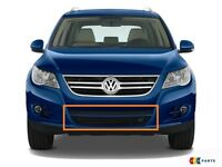 Neu Original VW Phaeton 2002-2007 Vordere Stoßstange Nebelscheinwerfer Grill