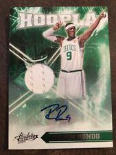 Rajon Rondo 2010 Panini Absolute Hoopla Auto/Jersey #7/10 Bulls/Celtics