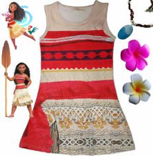 Princess Moana Dresses for Girls