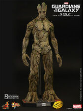 HOT TOYS MARVEL GUARDIANS OF THE GALAXY GROOT 1:6 FIGURE ~Sealed in Brown Box~