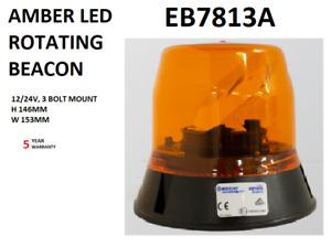 ECCO  EB7800 SERIES AMBER LED ROTATING BEACON  EB7813A  5 YR WARRANTY