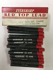 INDELIBLE  LEAD Vintage Case of 12 tubes of Eversharp  pencil  Leads