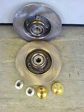 PEUGEOT 307 Disque de frein arrière C/W ROULEMENTS (25mm) ABS JOINTS,
