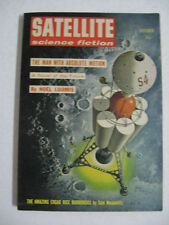 October 1958 Satellite Science Fiction THE MAN WITH ABSOLUTE MOTION Noel Loomis
