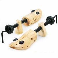 2X Men Two-Ways Shoe Tree Stretcher Wooden Adjustable US Sizes 9-13Shoes US SHIP