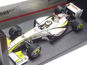 MINICHAMPS 1:18 BRAWN GP BGP 001 J. BUTTON WINNER BRAZIL GP 2009