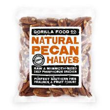 Gorilla Food Co. Natural Pecan Nut Halves - 100g (Great value £ per 1kg)