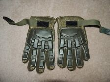 Valken Green Tactical Full Finger Airsoft/Paintball Gloves, M Medium
