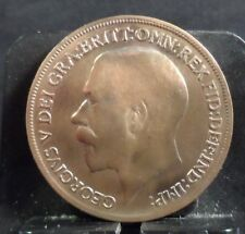CIRCULATED 1920 ONE PENNY UK COIN (51118)2