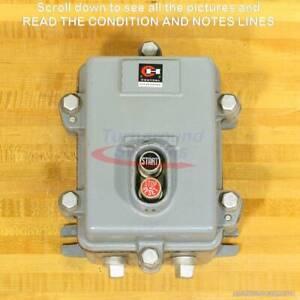 Cutler-Hammer 9115H69A Manual Starter, NEMA Size 0, NEMA 4/5 Enclosure, NEW!