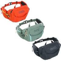 EVOC Hip Pack Hydration Pack 3L + 1.5L Bladder - Mountain Bike Waist Pack MTB