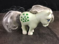 Vintage My Little Pony 1982 HONG KONG  Green Clover Shamrock