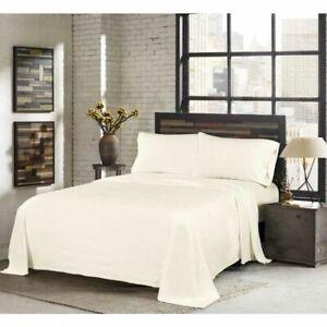 Polar Fleece Sheet Set Includes fitted sheet, flat sheet + 2 pillowcases