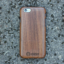 OXSY Walnut Solid Real Wood Case Cover - Apple iPhone 7