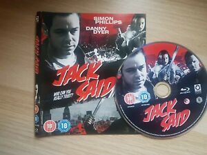 Jack Said (Blu-ray, 2009) ** DISC AND COVER ONLY **