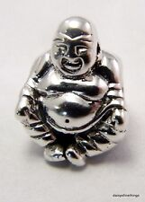 NEW! AUTHENTIC PANDORA SILVER CHARM SMILING BUDDHA   #790478  RETIRED