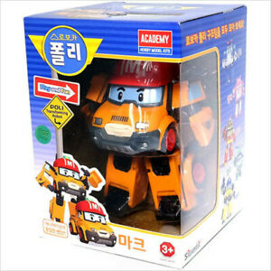 Robocar Poli MARK Robot Transformer Car Toy Figure Action Korean TV