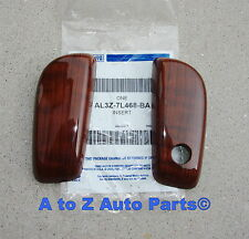 NEW 2009 2010 2011 Ford F150 Lariat Woodgrain Shifter Lever Grips,OEM