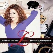 Bernadette Peters Loves Rodgers and Hammerstein by Bernadette Peters (CD,...