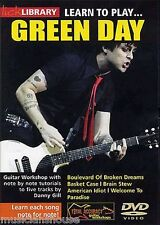 LICK LIBRARY Learn to Play GREEN DAY American Idiot Basket Case Tutor GUITAR DVD