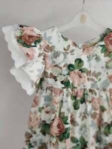 robe de fille d'été , robe de coton