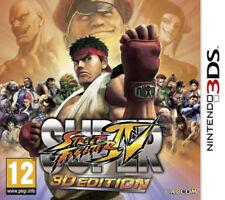 SUPER STREET FIGHTER IV 3D EDITION 3DS 2DS NINTENDO NUOVO ITALIANO + OMAGGIO