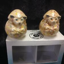 Harmony Kingdom S & P shakers Easter Cats #Spea. Bnib