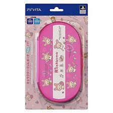 PS Vita (PCH-1000/2000) for Rilakkuma rabbit Slim EVA Pouch japan Japan new.