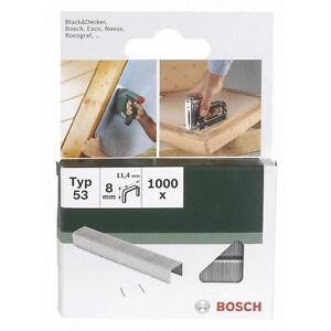 Bosch PTK3,6Li FINE WIRE STAPLES (Packof1000) 2609255820 3165140392716 ..