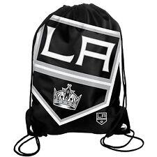 LA Los Angeles Kings Back Pack/Sack Drawstring Bag/Tote NHL backpack BIG LOGO