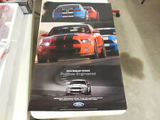 NOS 2013 & 2014 Mustang Shelby GT 500 Dealer Poster-2 Sides