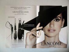 PUBLICITE-ADVERTISING :  LANCOME Grandiose Liner [4pages] 2016 Penélope Cruz
