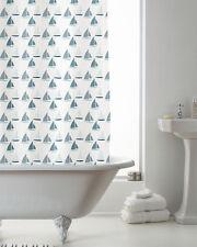 Sailing Boat  Design Shower Curtain 180cms x 180cms