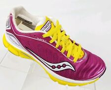 Saucony Kinvara 3 Womens Running Shoes Pink Yellow Athletic Sneakers Size 6.5
