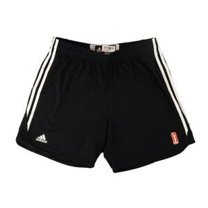 Adidas WNBA Team Issued Player Pro Cut Authentic Practice Black Shorts Women's