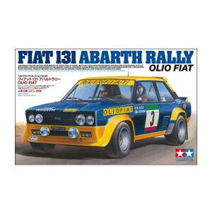 Tamiya 20069 Fiat 131 Abarth Rally Car Model Kit Scale 1:20