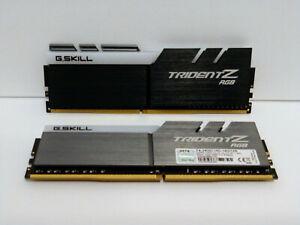 G.SKILL TridentZ RGB Series 16GB (2 x 8GB) DDR4 2400MHzF4-2400C15D-16GTZR