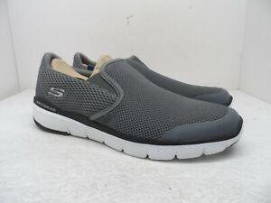 Skechers Men's FLEX ADVANTAGE 3.0 - MORWICK Casual Athletic Shoe 52961 Grey 13M